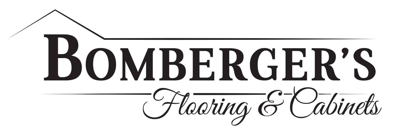 Bomberger's Flooring and Cabinets Logo