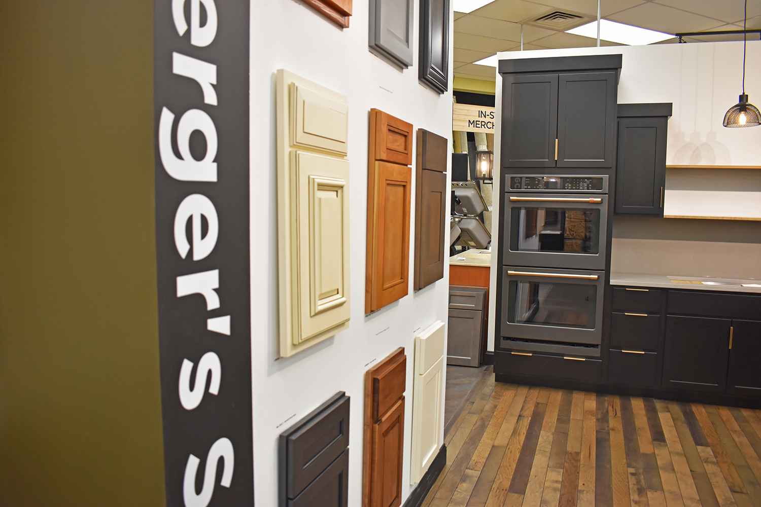 Landing – New Cabinets at Bomberger's